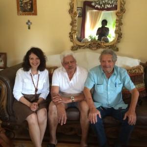 Alma Gottlieb, Salomão Benchimol, Jacinto Benros, 7-9-14, 1