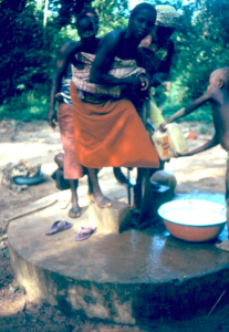 Girl at Kosangbé Water Pump