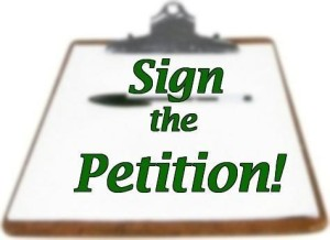 Sign the Petition! Clipboard