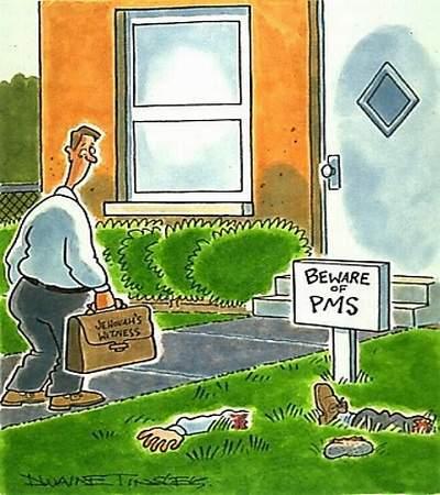 PMS 5 Beware of PMS