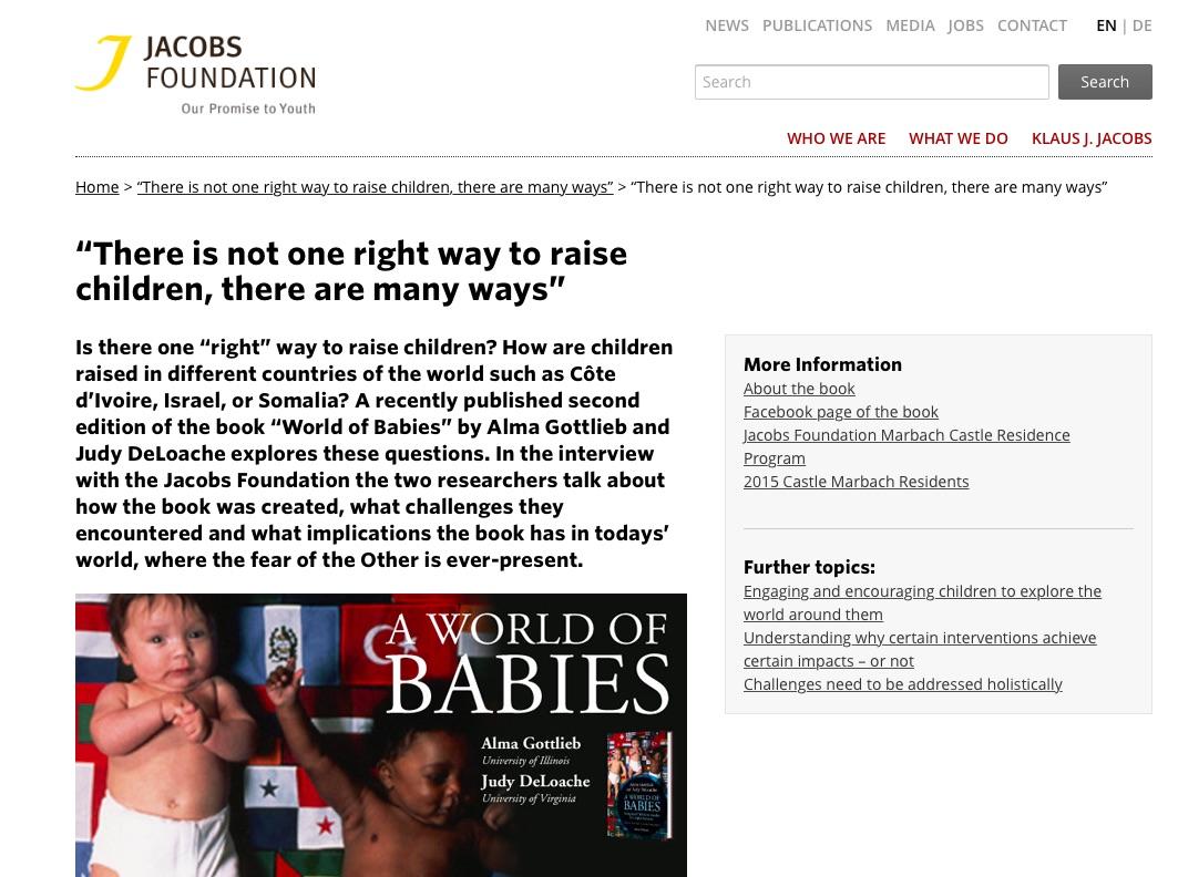 jacobs-fdtn-newsletter-screenshot