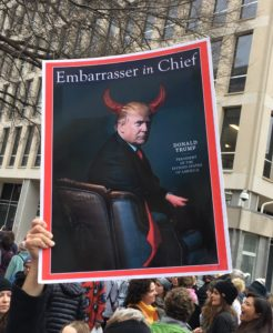 Poster, Embarrasser in Chief