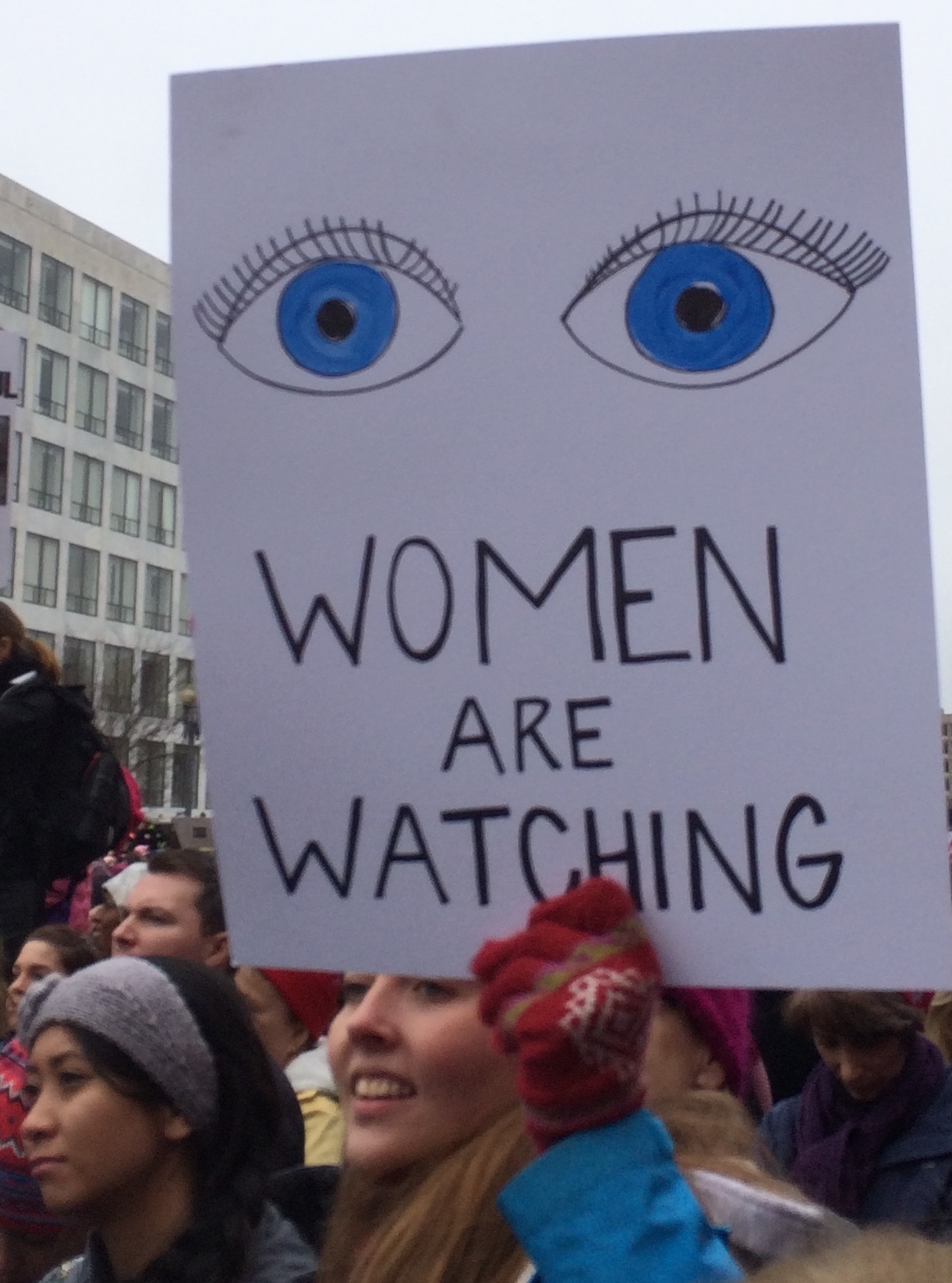 Poster, Women Are Watching, cropped