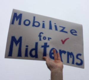 Poster, Mobilize for Midterms, cropped