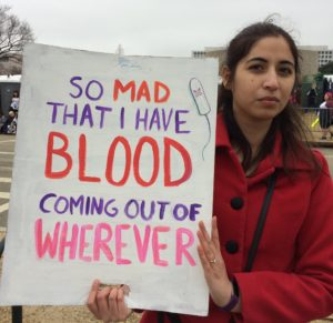 Poster, So Mad, Blood Coming out of Wherever, cropped